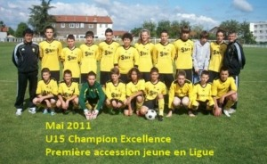 U15 Champion Excellence 2011
